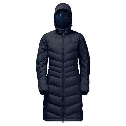 Jack Wolfskin Womens Selenium Down Coat - Warm - Insulated - Midnight Blue